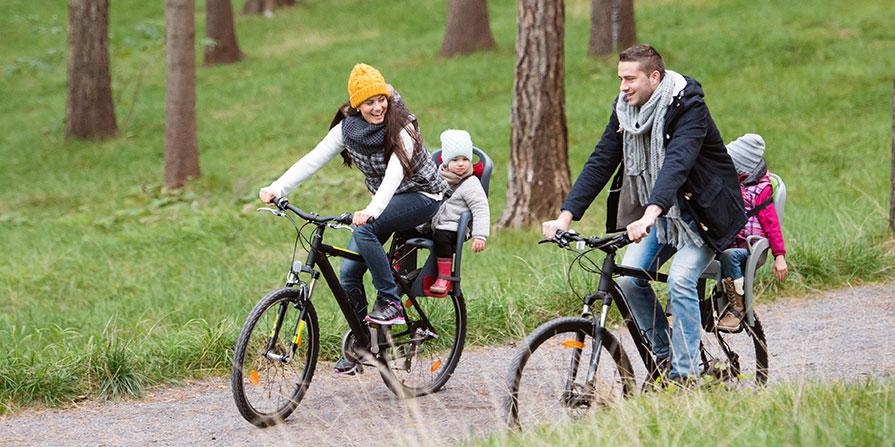 Tillbehör till cykelsitsar vid styret